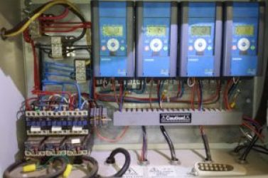 Control Panel For Conveyor Network
