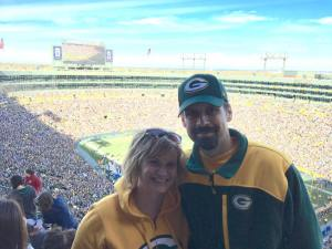 Adam & Julianna at Lambeau