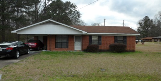 611 Weatherly St.  Kosciusko, MS 39090