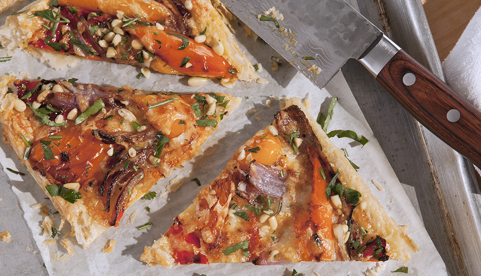Adams Reserve Roasted Pepper Tart
