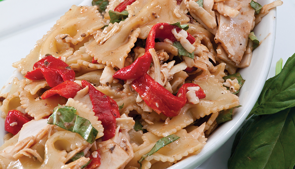 Smoked Turkey and Adams Reserve Cheddar Pasta Salad