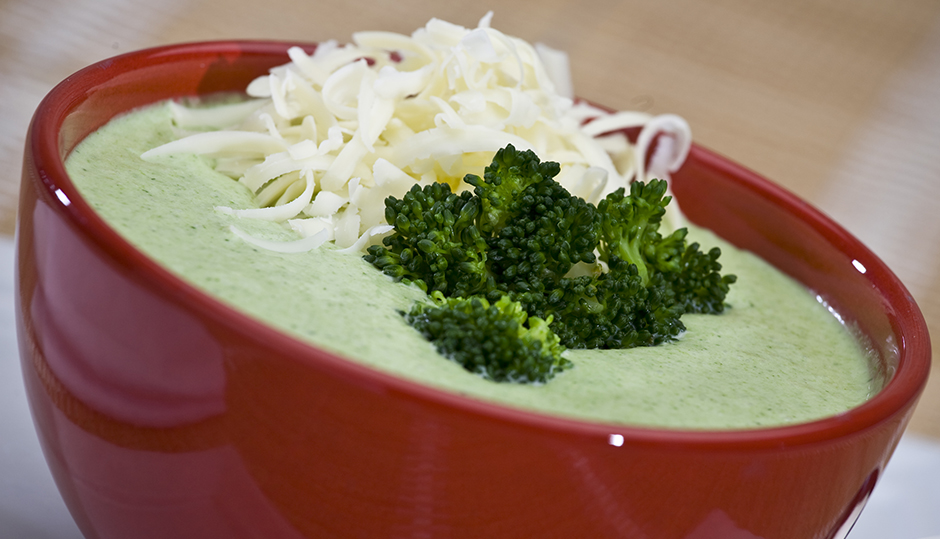 Ultimate Broccoli & Cheddar Soup