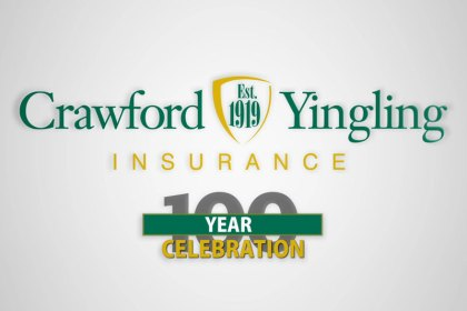 crawford yingling insurance celebrates 100 years in business