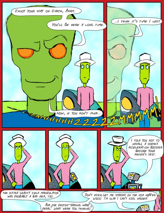 Every time I look at the expression on the robot's face in the last panel, I giggle like a schoolgirl.