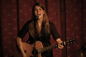 Jenny Owen Youngs performing at Portland's Mississippi Studios in 2007.