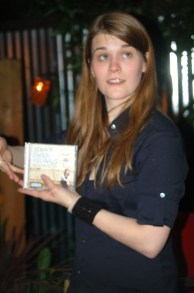 Youngs in 2007, posing with her album.