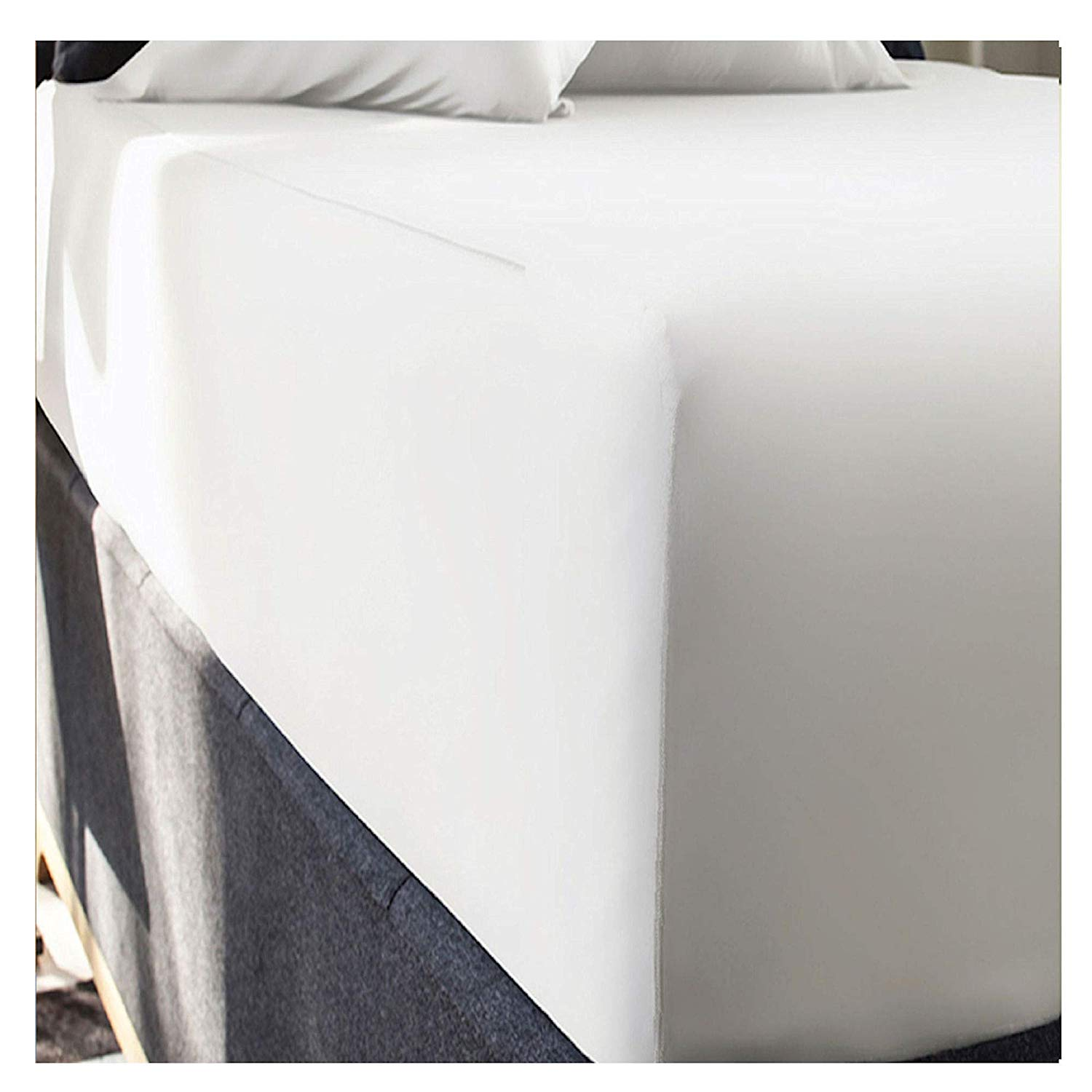 Extra Deep Super King Size Fitted Sheets White Full Large Adamtrade