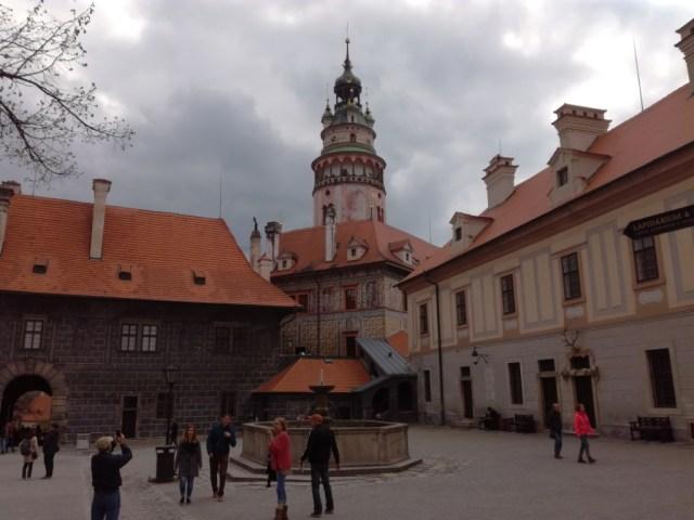 statny hrad a zamok cesky krumlov cesko