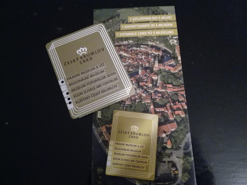 cesky krumlov card cesko