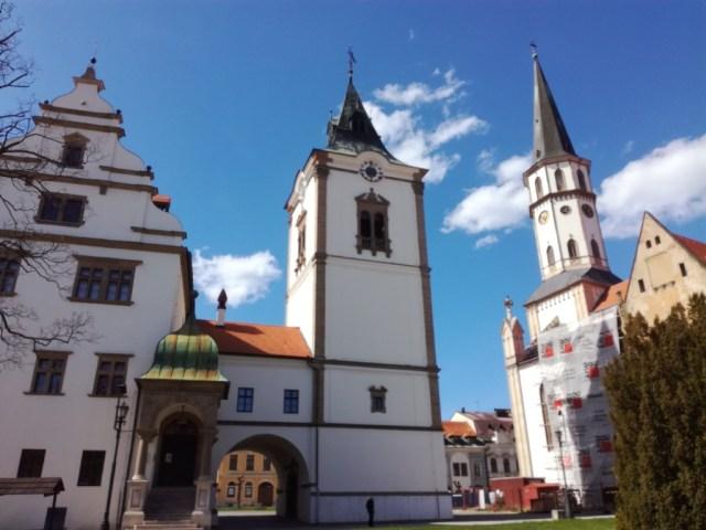 zvonica levoca slovensko