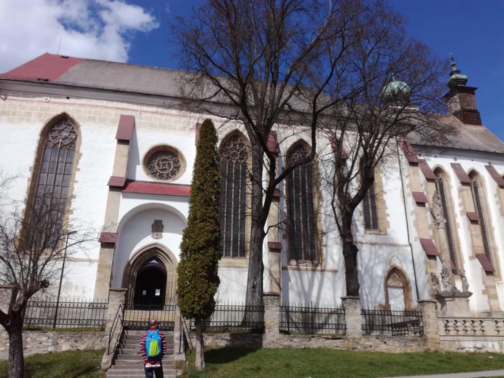 stary kostol minoritov levoca slovensko