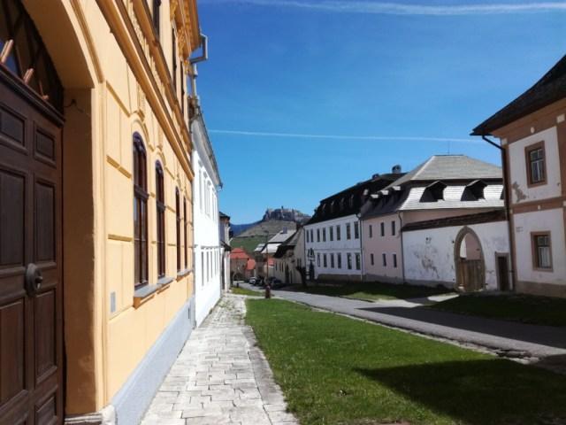 spisska kapitula spissky hrad ulica kanonikov spisske podhradie