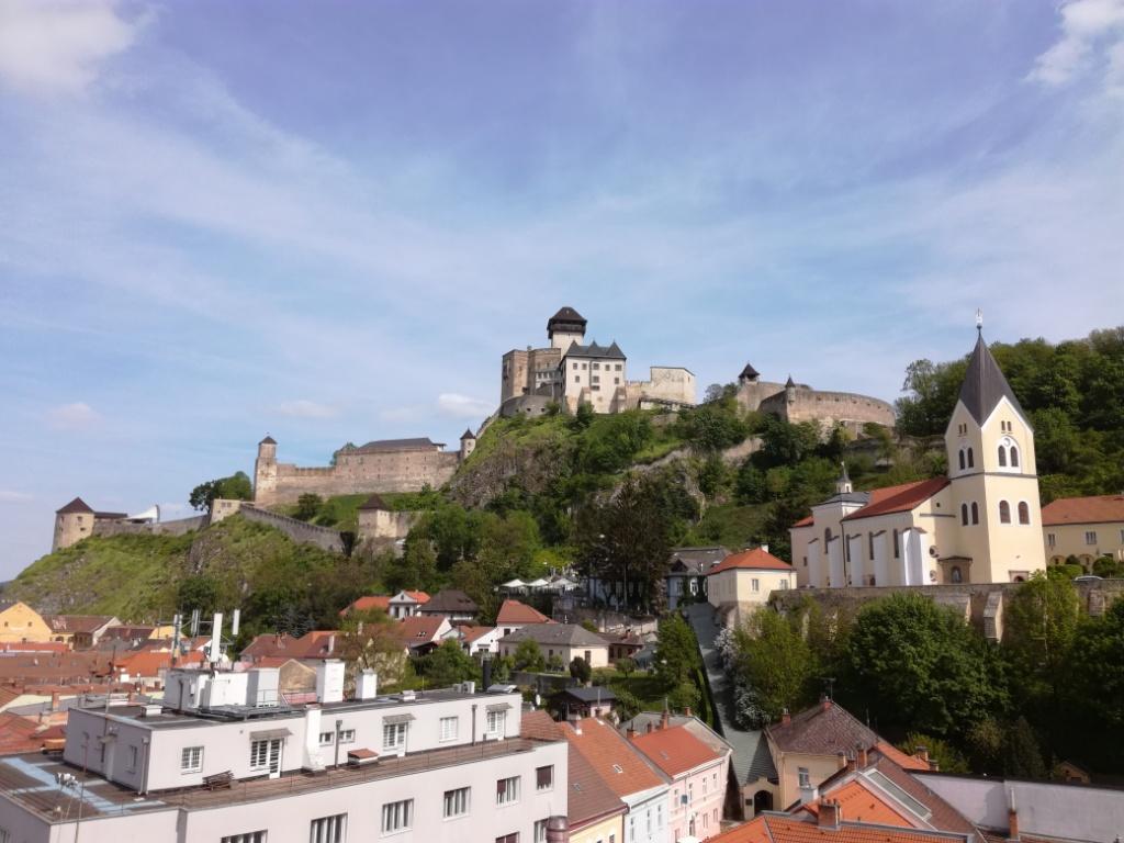 mestska veza trencin trenciansky hrad