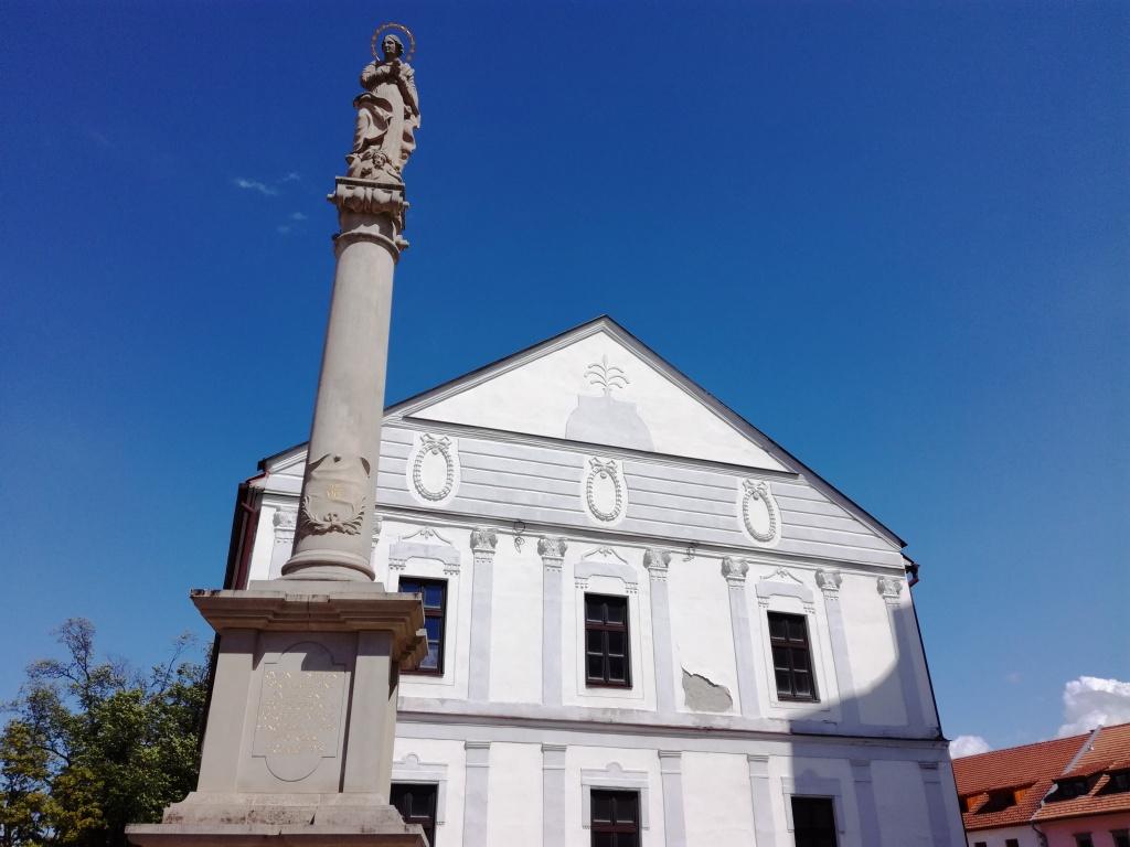 immaculata mariansky stlp spisska sobota poprad