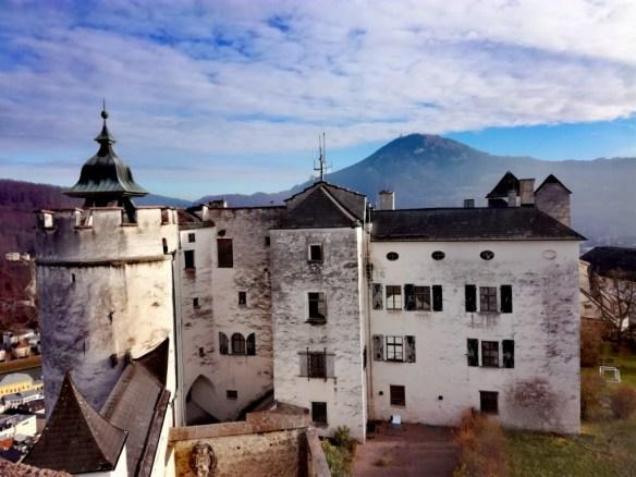 salzburg, rakusko, pevnost hohensalzburg