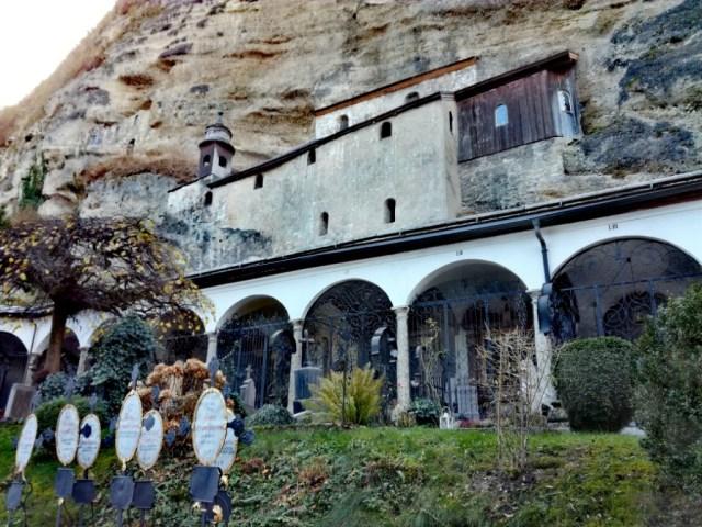 arciopatstvo sv. petra, cintorin, katakomby, salzburg, rakusko