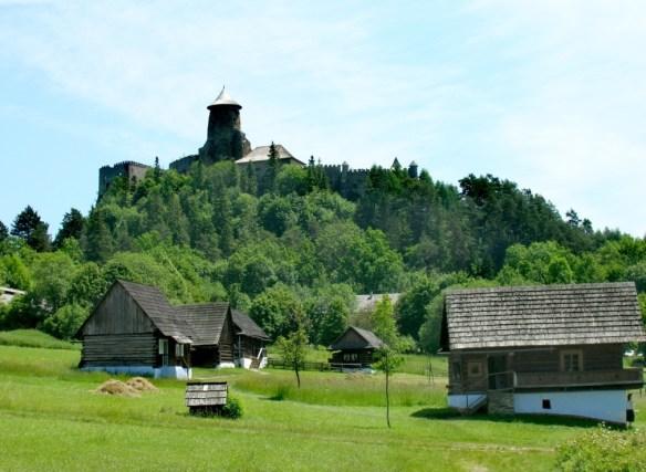 stara lubovna severny horny spis slovensko pieniny zamagurie