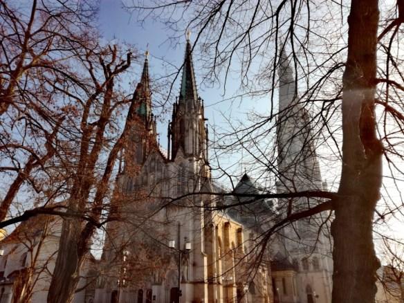 olomouc stredna morava cesko katedrala svateheo vaclava