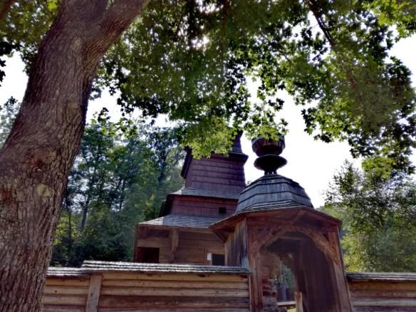 bardejov bardejovske kupele saris slovensko sarisske muzeum zrubovy kostol zo zboja skanzen muzeum ludovej architektury