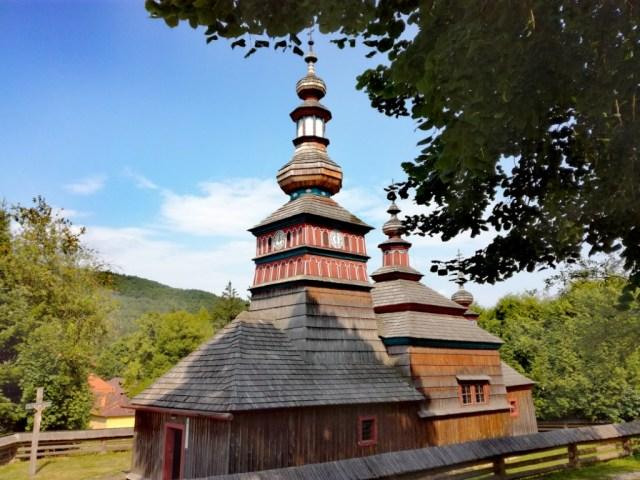 bardejov bardejovske kupele saris slovensko sarisske muzeum skanzen muzeum ludovej architektury zrubovy kostol z mikulasovej