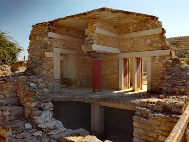 grecko kreta knossos juzne propyleje nosi case
