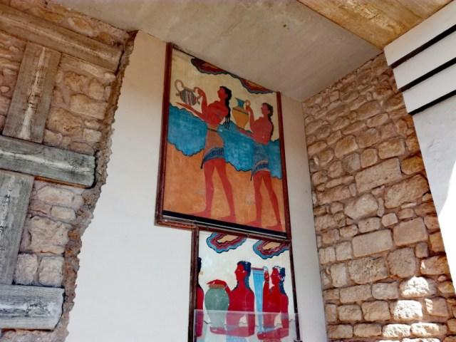 grecko kreta knossos nosic case juzne propyleje