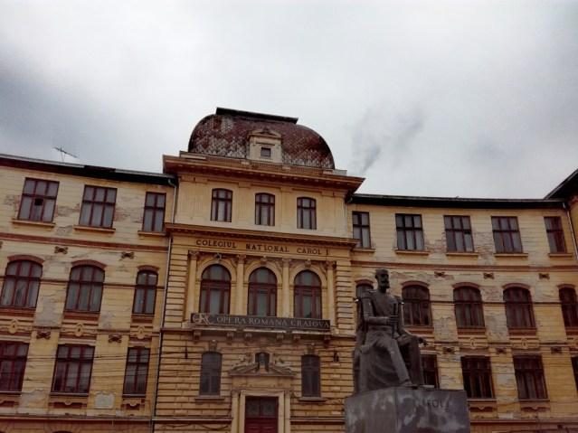 craiova dolj oltenia valassko valahia valachia wallachia walachia rumunsko romania romanian opera house