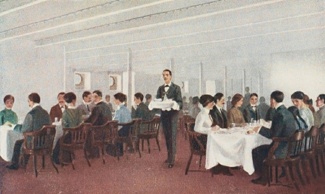 jedalensky salon 3. triedy titanic