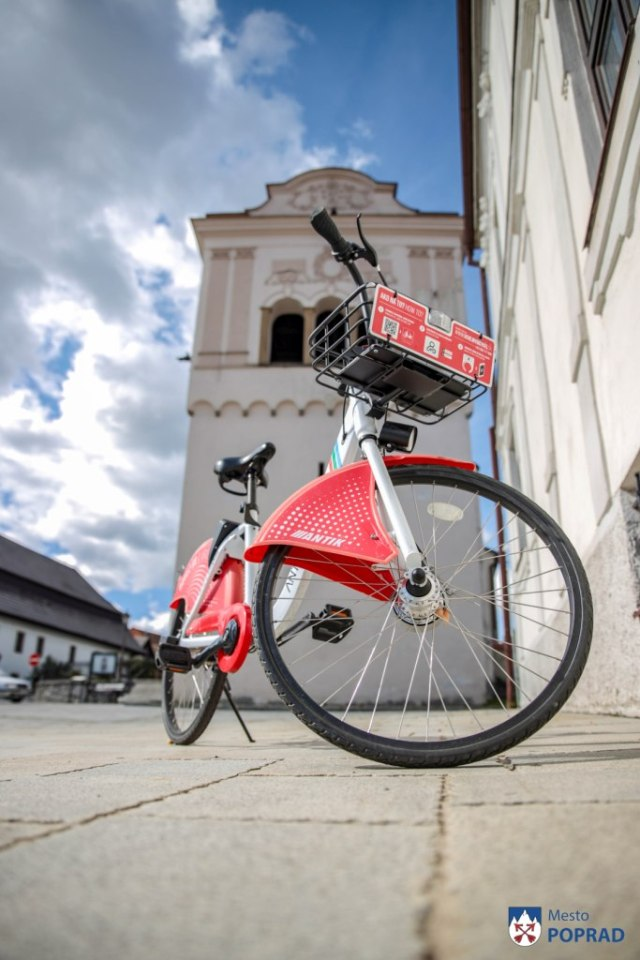 poprad spisska sobota bikesharing cykloturistika