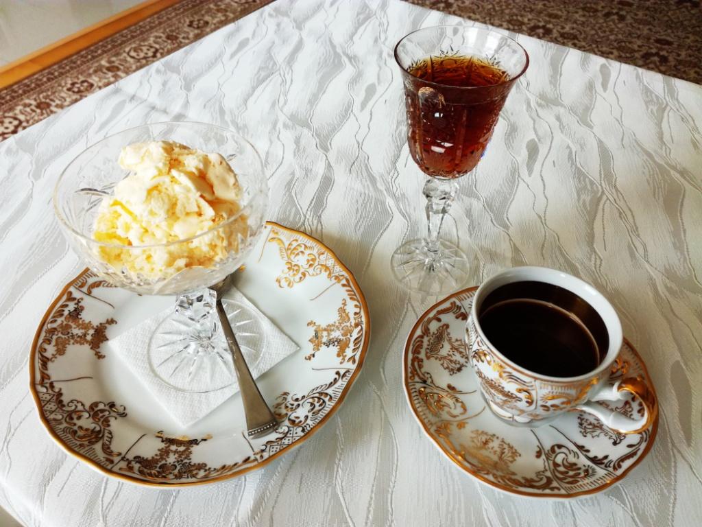 francuzska vanilkova zmrzlina dezert vecera 1. trieda titanic