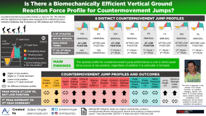 Is There a Biomechanically Efficient Vertical Ground Reaction Force Profile for Countermovement Jumps?