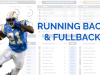 NFL Combine and Game Performance Comparison Tool: Running Backs and Full Backs