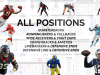 NFL Combine and Game Performance Comparison Tool: ALL POSITIONS BUNDLE