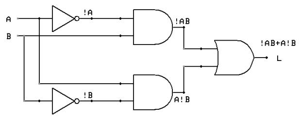 converting positive logic to negative logic 7 segment decoder