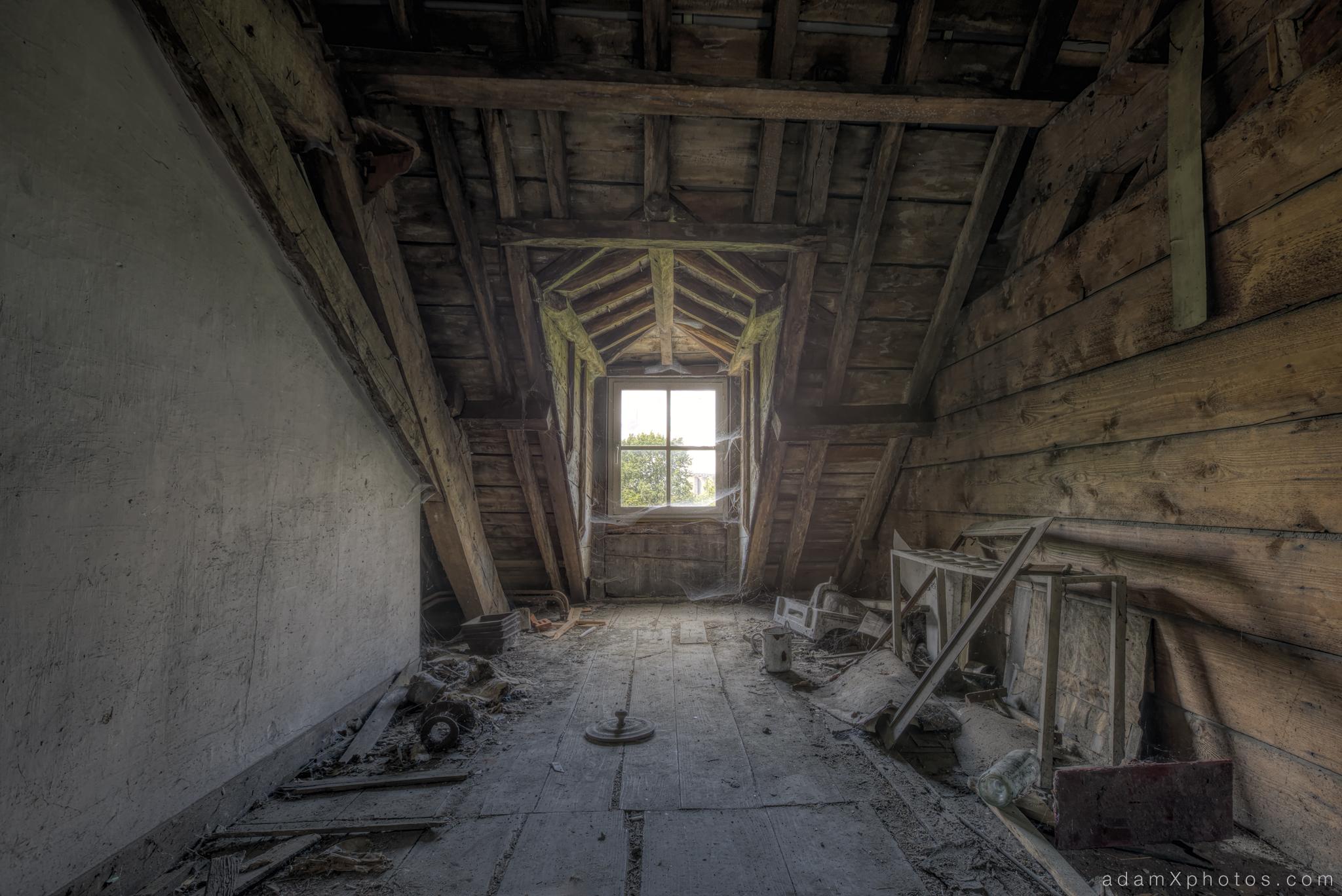 Explores 89 and 89a revisit Chateau de la Chapelle Belgium  August and September 2014