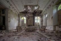 Abandoned Empty Living Room