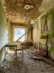 Urban Exploration Abandoned Room