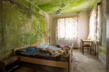 Abandoned Hotel Bedroom