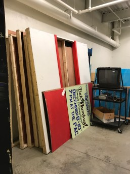 More walls ready for storage