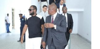 Maître Gims à Abidjan