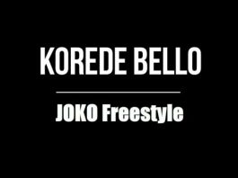 Korede Bello - Joko (Freestyle)