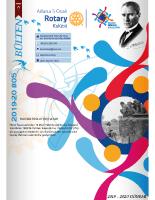 Adana 5 Ocak Rotary Kulübü 2019-20 Bülten – 05
