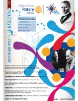 Adana 5 Ocak Rotary Kulübü 2019 -20 bülten – 01