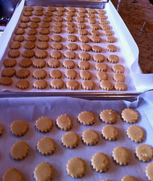 Mazapán Mexican peanut candy is fun to make with friends.