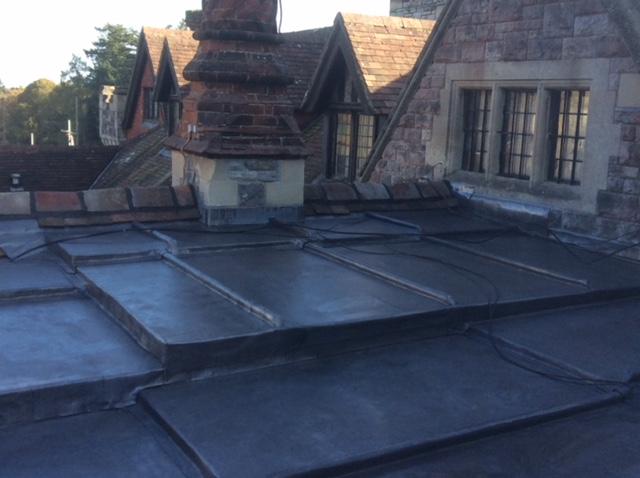 A. Dansie Roofing Ltd Flat Roof installations Leadwork