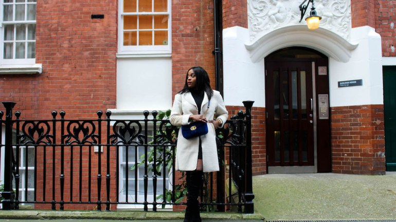 How I Style a Teddy Coat & Velvet