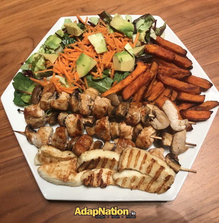 22nd Jan - Dinner - Kebab - Aerial