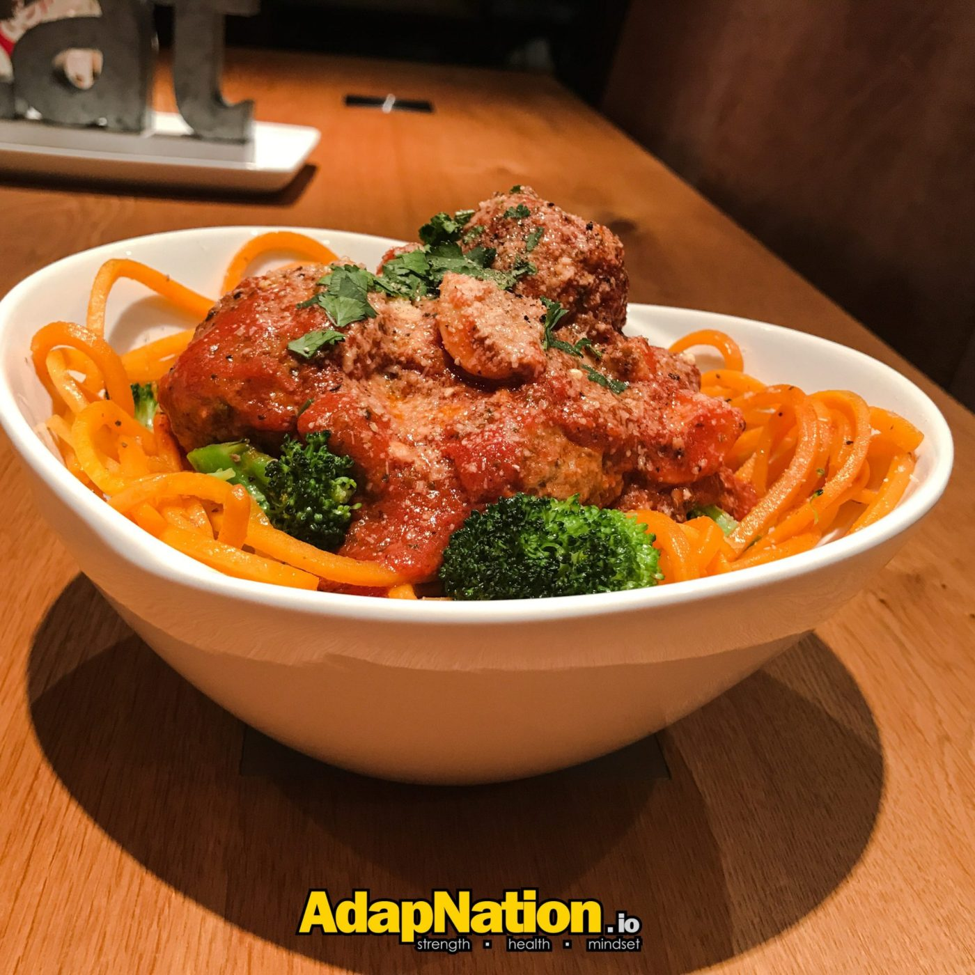 AdapNation - Butternut squash meatballs