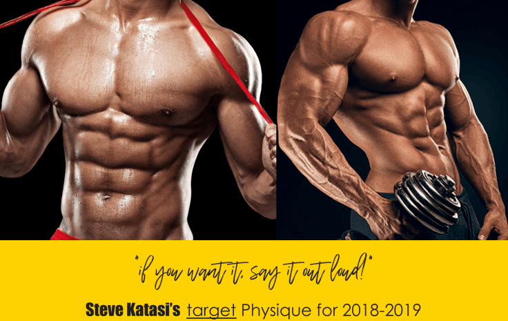 Steve Katasi - Body goals for 2018 and 2019