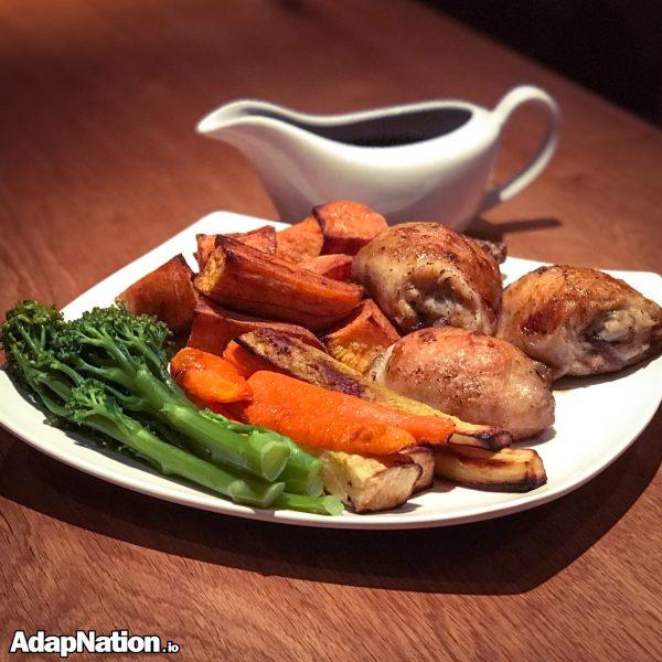 Roast Chicken Thighs & SP